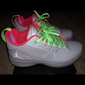 "Nike Jordan CP3 V ""Dr. Jekyll"" Wolf Grey Sz 8"